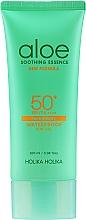 Düfte, Parfümerie und Kosmetik Wasserfestes Sonnenschutzgel für Gesicht und Körper mit Aloe SPF50+ - Holika Holika Aloe Waterproof Sun Gel