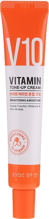 Aufhellende Anti-Falten Gesichtscreme mit 10 Vitaminen - Some By Mi V10 Vitamin Tone-Up Cream