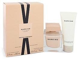 Düfte, Parfümerie und Kosmetik Narciso Rodriguez Narciso Poudree - Duftset (Eau de Parfum 90ml + Körperlotion 75ml)