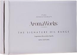 Düfte, Parfümerie und Kosmetik Körperpflegeset - AromaWorks Signature Oil Range (Körperöl 4x10ml)