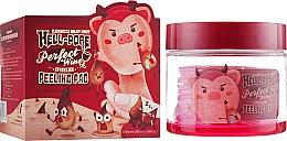 Düfte, Parfümerie und Kosmetik Peelingpads für das Gesicht mit Weinextrakt - Elizavecca Hell-Pore Perfect Wine Sparkling Peeling Pad