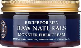 Düfte, Parfümerie und Kosmetik Definierende Haarstylingcreme für mehr Glanz Extrem starker Halt - Recipe For Men RAW Naturals Monster Fiber Cream
