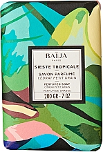 Düfte, Parfümerie und Kosmetik Parfümierte Seife mit kleinkörniger Zitrone - Baija Sieste Tropicale Perfumed Soap