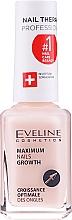 Behandlung zum Nagelwachstum mit Keratin und Seide - Eveline Cosmetics Nail Therapy Professional  — Bild N2