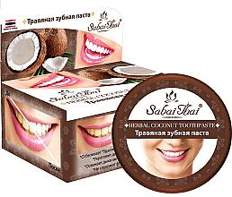 Düfte, Parfümerie und Kosmetik Kräuterzahnpasta mit Kokosöl - Sabai Thai Herbal Coconut Toothpaste