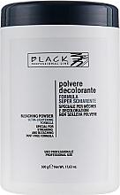Düfte, Parfümerie und Kosmetik Aufhellungspulver blau - Black Professional Line Bleaching Powder Blue (Behälter)