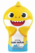 Düfte, Parfümerie und Kosmetik 2in1 Duschgel und Shampoo für Kinder - Air-Val International Baby Shark Shower Gel & Shampoo 2D