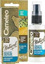Düfte, Parfümerie und Kosmetik Serum für gespaltene Haarspitzen ohne Ausspülen - Delia Cameleo Natural On Your Hair Aqua Action Serum