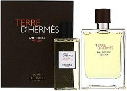 Düfte, Parfümerie und Kosmetik Terre D'Hermes Eau Intense Vetiver - Duftset (Eau de Parfum 100ml + Duschgel 100ml)