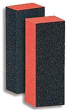 Düfte, Parfümerie und Kosmetik Nagelpufferblock 9351 schwarz-orange - Donegal
