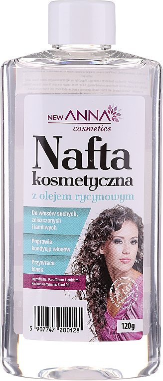 Haarspülung Kerosin mit Rizinusöl - New Anna Cosmetics
