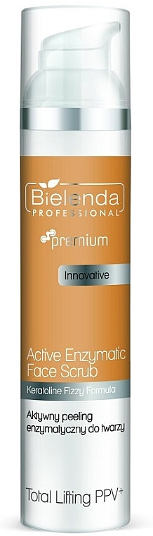 Straffendes Enzympeeling für Gesicht - Bielenda Professional Premium Total Lifting PPV+ Enzymatic Active Face Peeling