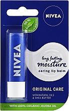 Düfte, Parfümerie und Kosmetik Lippenbalsam mit Naturölen und Sheabutter - Nivea Original Care 24H Lip Balm