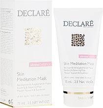 Düfte, Parfümerie und Kosmetik Beruhigende und ausgleichende Gesichtsmaske - Declare Stress Balance Skin Meditation Mask