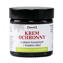 Düfte, Parfümerie und Kosmetik Schützende Gesichts- und Handcreme mit Hanföl und Sheabutter - Iossi Protective Cream For Face And Hands
