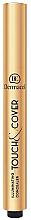 Düfte, Parfümerie und Kosmetik Gesichts-Concealer mit Pinsel - Dermacol Highlighting Elick Concealer Touch & Cover