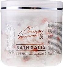 Düfte, Parfümerie und Kosmetik Badesalze - Hristina Cosmetics Sezmar Professional Orange & Cinnamon Bath Salts