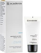 Düfte, Parfümerie und Kosmetik Gesichtsmaske mit Honig - Academie Honey Mask