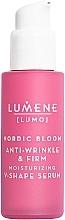 Düfte, Parfümerie und Kosmetik Straffendes und feuchtigkeitsspendendes Anti-Falten Gesichtsserum - Lumene Lumo Nordic Bloom Anti-wrinkle & Firm Moisturizing V-Shape Serum