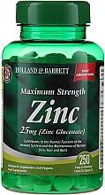 Düfte, Parfümerie und Kosmetik Nahrungsergänzungsmittel Zink 25 mg - Holland & Barrett Maximum Strength Zinc
