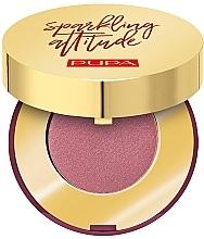 Düfte, Parfümerie und Kosmetik Satin-Lidschatten - Pupa Sparkling Attitude Luminous Eyeshadow