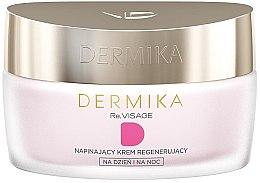 Düfte, Parfümerie und Kosmetik Regenerierende Gesichtscreme für Tag und Nacht 70+ - Dermika Revisage 70+