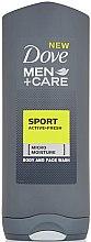 Düfte, Parfümerie und Kosmetik Duschgel für Männer - Dove for Men Plus Care Sport Active+Fresh
