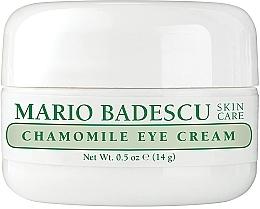 Düfte, Parfümerie und Kosmetik Augencreme mit Kamille - Mario Badescu Chamomile Eye Cream