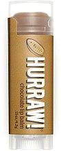 Düfte, Parfümerie und Kosmetik Lippenbalsam mit Kakaobutter - Hurraw! Chocolate Lip Balm