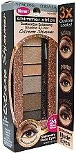 Düfte, Parfümerie und Kosmetik Glänzende Lidschatten & Eyeliner - Physicians Formula Shimmer Strips Shadow & Liner Extreme Shimmer