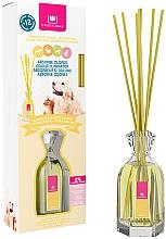 Düfte, Parfümerie und Kosmetik Aroma-Diffusor mit Duftstäbchen gegen Haustiergerüche Weiße Blumen - Cristalinas Reed Diffuser
