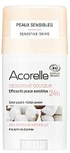 Düfte, Parfümerie und Kosmetik Deostick - Acorelle Deodorant Stick Gel Cotton Powder