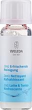 Düfte, Parfümerie und Kosmetik Porentiefe erfrischende Gesichtsreinigung mit Hamamelisextrakt - Weleda 2in1 Erfrischende Reinigung Milch mini