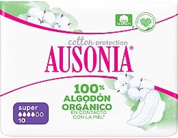 Düfte, Parfümerie und Kosmetik Damenbinden mit Flügeln 10 St. - Ausonia Cotton Protection