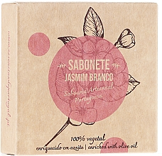 Düfte, Parfümerie und Kosmetik Naturseife mit Jasmin und Olivenöl - Essencias De Portugal Senses Jasmine Soap With Olive Oil