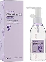 Düfte, Parfümerie und Kosmetik Hydrophiles Gesichtsreinigungsöl zum Abschminken mit Lavendelöl für empfindliche Haut - A'pieu Lavender Cleansing Oil