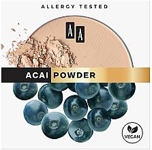 Düfte, Parfümerie und Kosmetik Mattierender Gesichtspuder - AA Acai Powder