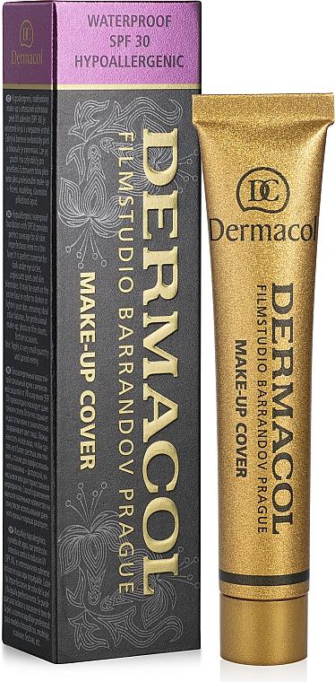 Stark deckende Foundation mit SPF 30 - Dermacol Make-Up Cover