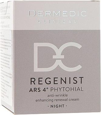 Regenerierende Nachtscreme 40+ - Dermedic Regenist ARS 4 Phytohial Night Anti-Wrinkle Enhancing Renewal Cream