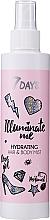 Düfte, Parfümerie und Kosmetik Feuchtigkeitsspendender Haar- und Körpernebel - 7 Days Illuminate Me Hydrating Hair & Body Mist