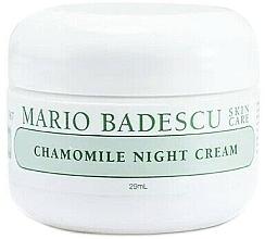 Düfte, Parfümerie und Kosmetik Beruhigende Nachtcreme mit Kamille - Mario Badescu Chamomile Night Cream