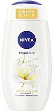 Düfte, Parfümerie und Kosmetik Pflegendes Duschgel mit Jojoba-Öl - Nivea Blossom Up Tiare Shower Gel