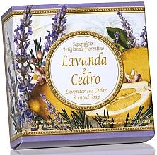 Düfte, Parfümerie und Kosmetik Naturseife Lavendel und Zeder - Saponificio Artigianale Fiorentino Capri Lavender & Cedar