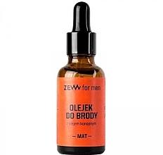 Düfte, Parfümerie und Kosmetik Bartöl mit Hanf - Zew Beard Oil Mat