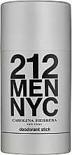 Düfte, Parfümerie und Kosmetik Carolina Herrera 212 For Man - Parfümierter Deostick