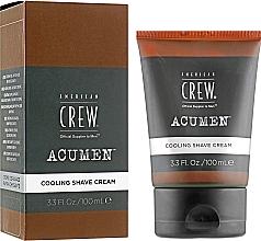 Düfte, Parfümerie und Kosmetik Feuchtigkeitsspendende Rasiercreme mit kühlendem Effekt - American Crew Acumen Cooling Shave Cream
