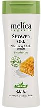 Düfte, Parfümerie und Kosmetik Duschgel mit Honig- und Milchextrakt - Melica Organic Shower Gel