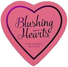 Düfte, Parfümerie und Kosmetik Gesichtsrouge - I Heart Revolution Blushing Hearts Blusher