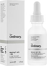 Düfte, Parfümerie und Kosmetik Anti-Aging Gesichtsserum Matrixyl + Hyaluronsäure - The Ordinary Matrixyl 10% + HA