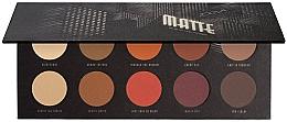 Düfte, Parfümerie und Kosmetik Lidschatten-Palette - Zoeva Matte Palette